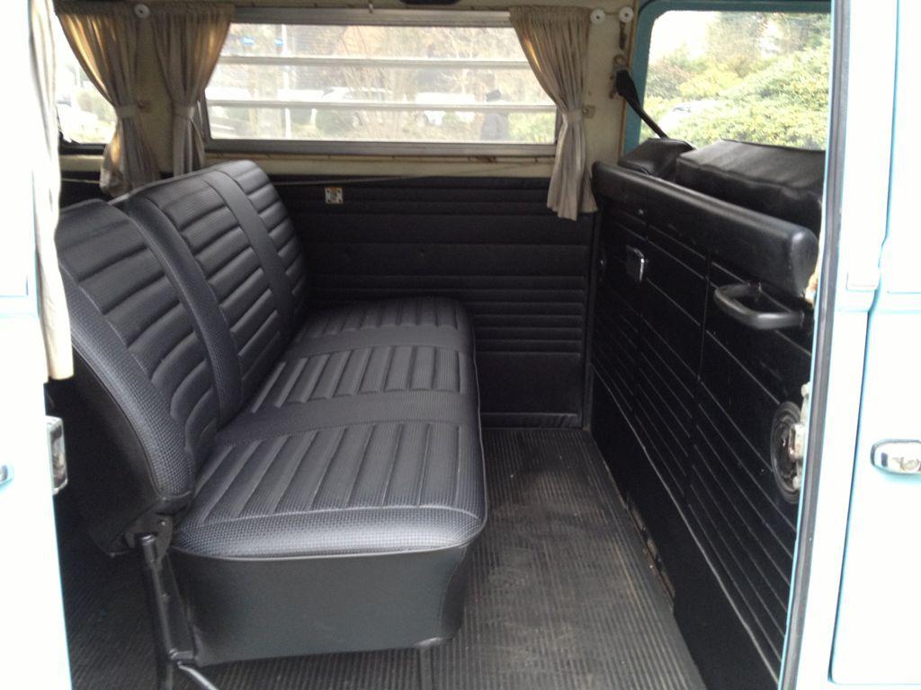 VW T2a Deluxe 9-Sitzer 1969 | Svan Classics , Oldtimer, VW T1, VW T2 ...