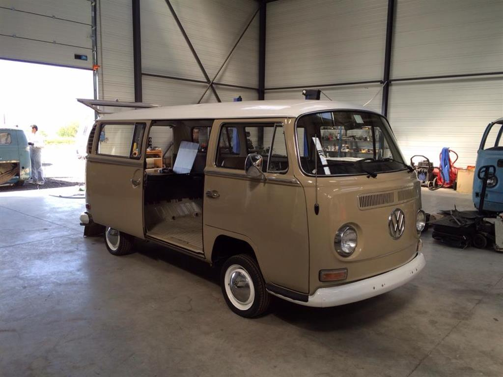 Der t2a deluxe in savannah beige in lyon eingetroffen for Garage volkswagen lyon 7